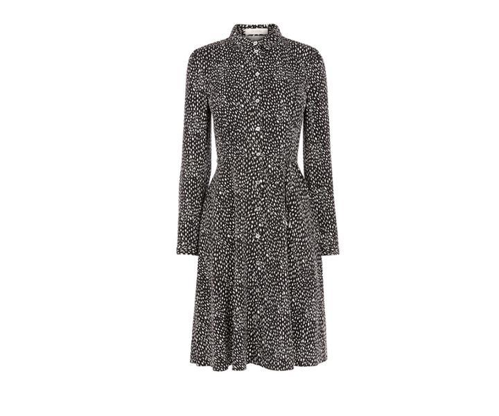 Oasis Leopard Shirt Dress