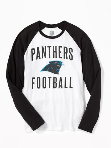 Old Navy Nfl Team Raglan Sleeve Tee For Men - Panthers