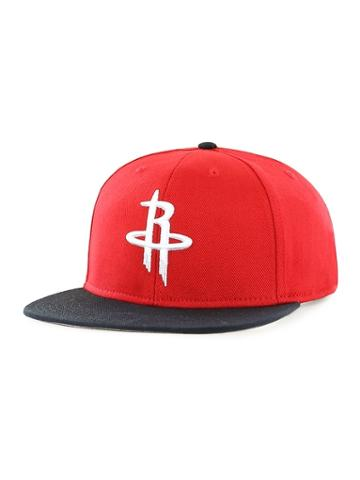 Old Navy Mens Nba Team-graphic Flat-brim Cap For Adults Houston Rockets Size One Size