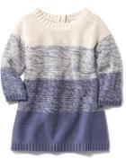 Old Navy Colorblock Knit Dress - Multi Blue