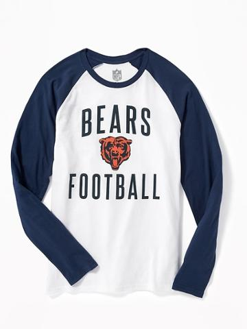 Old Navy Nfl Team Raglan Sleeve Tee For Men - Bears