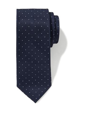 Old Navy Printed Tie For Men - Navy Dots