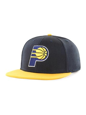 Old Navy Mens Nba Team-graphic Flat-brim Cap For Adults Indiana Pacers Size One Size