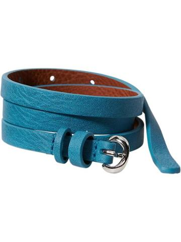 Old Navy Womens Skinny Faux Leather Belts Size L/xl - Ultraviolet 2