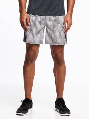 Old Navy Go Dry Fitted Running Shorts For Men 7 - Stone Cold Fox