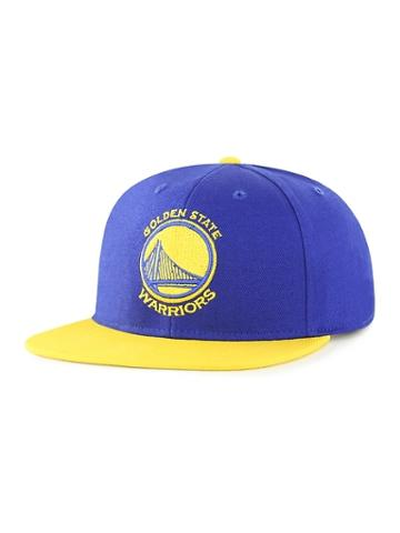 Old Navy Mens Nba Team-graphic Flat-brim Cap For Adults Golden State Warriors Size One Size