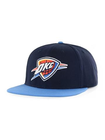Old Navy Mens Nba Team-graphic Flat-brim Cap For Adults Oklahoma City Thunder Size One Size