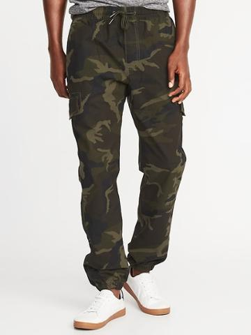 Old Navy Mens Built-in Flex Ripstop Cargo Joggers For Men Camo Size Xs