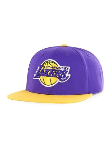 Old Navy Mens Nba Team-graphic Flat-brim Cap For Adults Los Angeles Lakers Size One Size