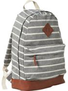 Old Navy Mens Striped Backpacks Size One Size - Gray Stripe