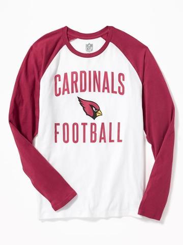 Old Navy Nfl Team Raglan Sleeve Tee For Men - Cardinals