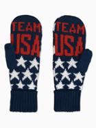 Old Navy Womens Team Usa Star-print Mittens For Adults Team Usa Size One Size