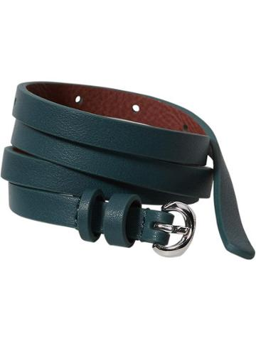 Old Navy Womens Skinny Faux Leather Belts Size L/xl - Kelp Forest