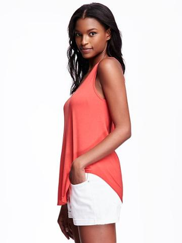 Old Navy Relaxed Jersey Tank For Women - Love Potion