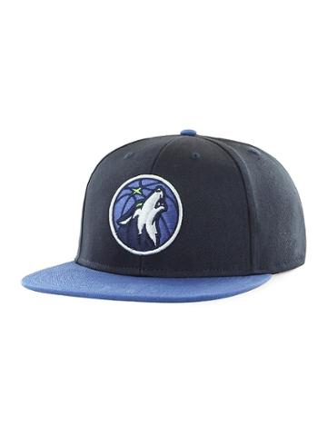 Old Navy Mens Nba Team-graphic Flat-brim Cap For Adults Minnesota Timberwolves Size One Size
