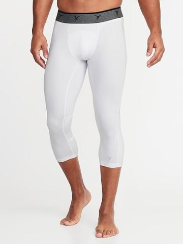 Go-dry 3/4-length Base Layer Tights For Men