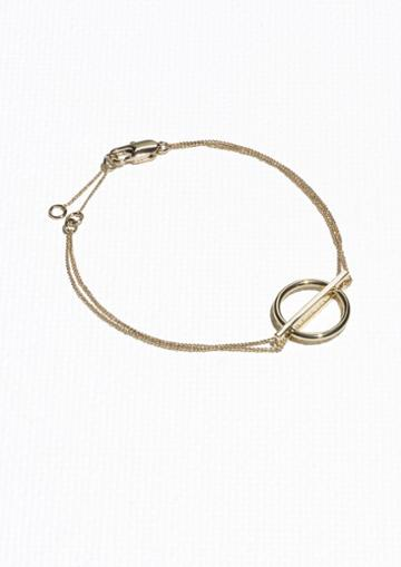 Other Stories Geometric Circle Bracelet