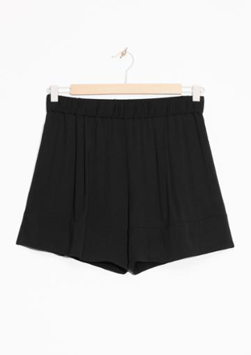 Other Stories Twill Shorts