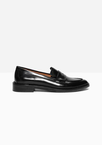 Other Stories Leather Loafers
