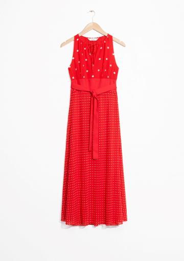 Other Stories Multi-print Dress
