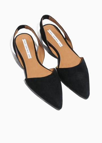 Other Stories Slingback Slipper - Black