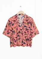 Other Stories Cropped Lounge Shirt