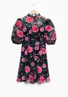 Other Stories Roses Mini Dress