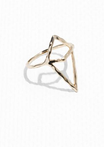 Other Stories Prism Caged Ring