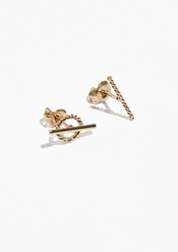 Other Stories Asymmetric Twisted Studs