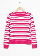 Other Stories Bateau Neck Top - Pink