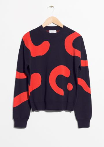 Other Stories Jacquard Sweater
