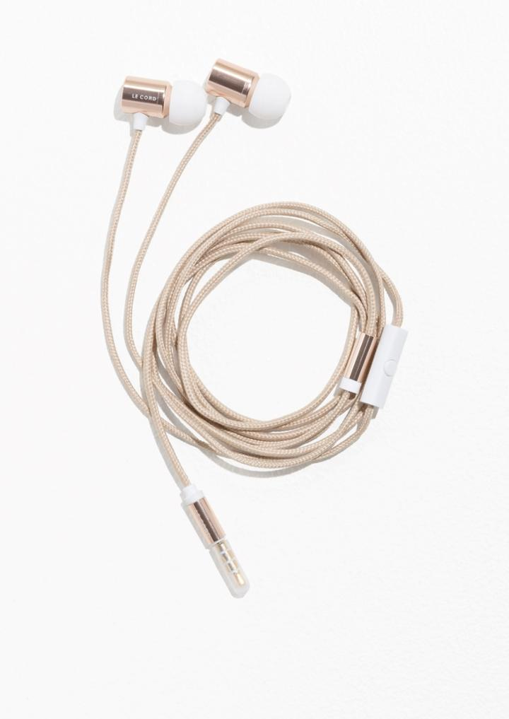 Other Stories Le Cord Earphones