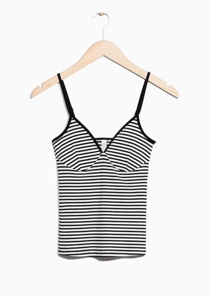 Other Stories Stripe Tank Top