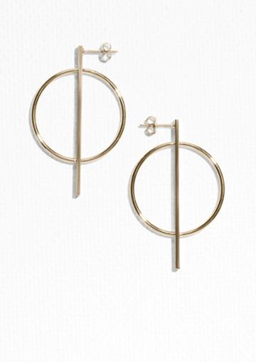 Other Stories Geometric Shapes Earrings