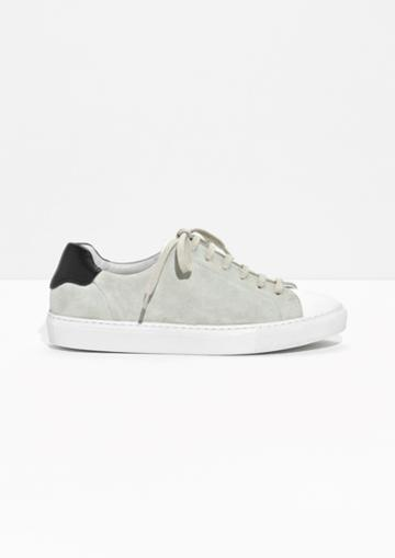 Other Stories Suede Lace-up Sneaker