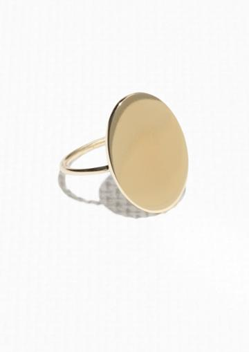 Other Stories Oval Ring