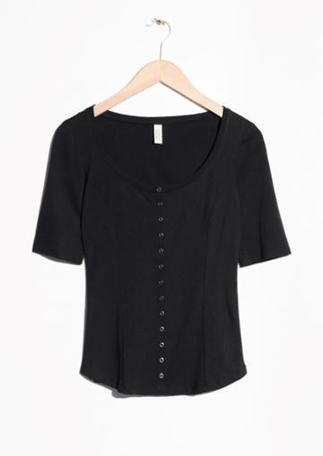 Other Stories Plunging Top