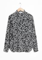 Other Stories Flowery Shirt