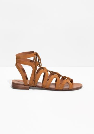 Other Stories Lacing Sandals