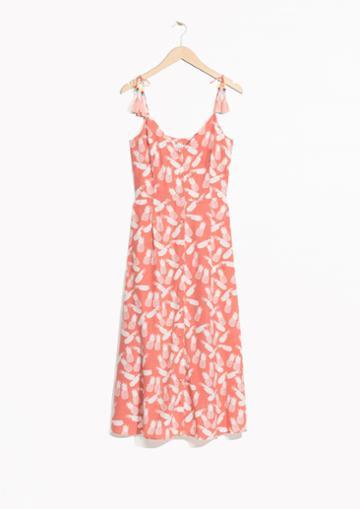 Other Stories Pineapple Tassel Dress