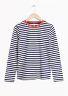 Other Stories Striped Long Sleeve Tee