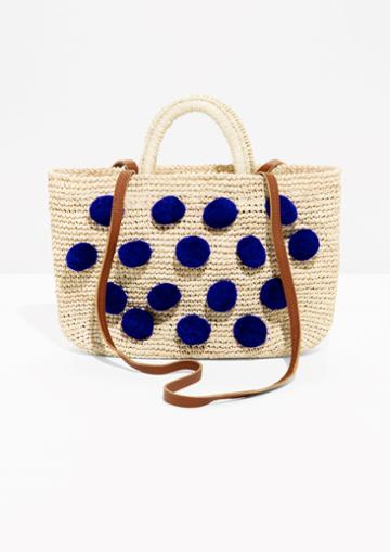 Other Stories Straw Bag