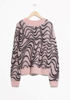 Other Stories Mohair Jacquard Sweater