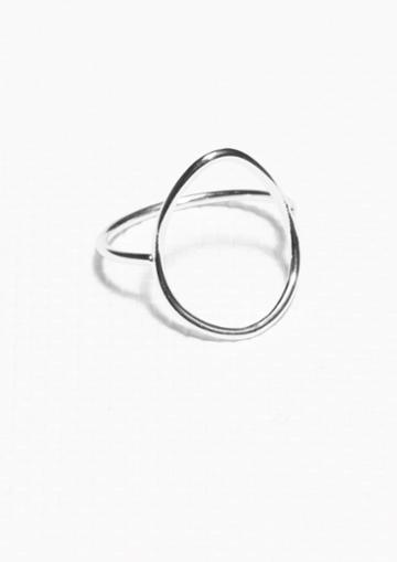 Other Stories Thin Droplet Ring