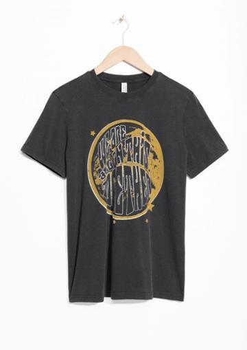 Other Stories Graphic Print Tee