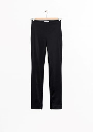 Other Stories Zip Leg Trousers