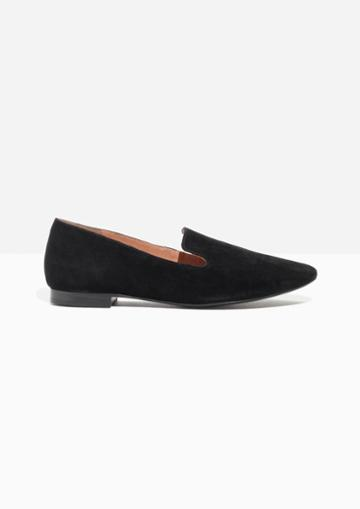 Other Stories Suede Loafers