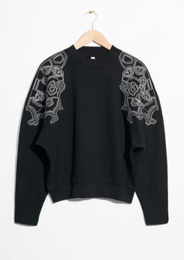 Other Stories Embroidered Pullover