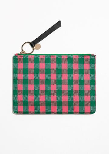 Other Stories Gingham Pouch