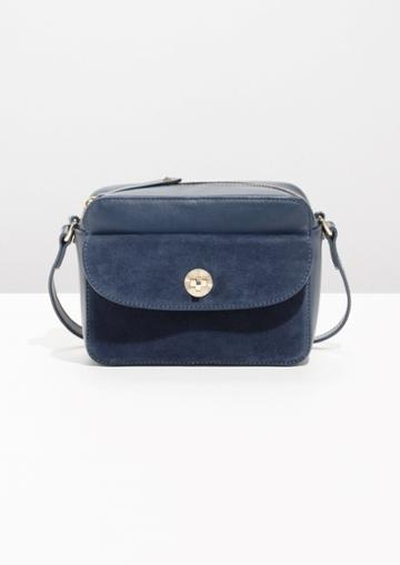 Other Stories Mini Leather Shoulder Bag